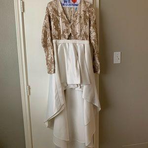 Take You Down Ruffle Dress : FashionNova